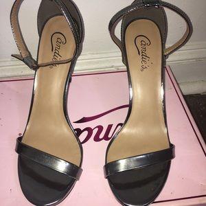 PROM HEELS Silver( Capeachpewter) heels
